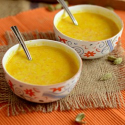 Carrot Nut and Milk Soup Recipe