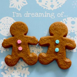 Chewy Gingerbread Men