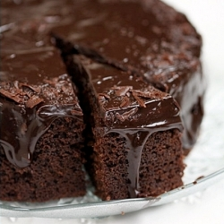 Chocolate Buttermilk Pound Cake