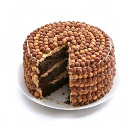 Chocolate Peanut Butter Later Cake Recipe