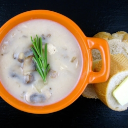 Cream of Chicken Mushroom Soup Recipe