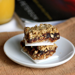 Date Oat Squares