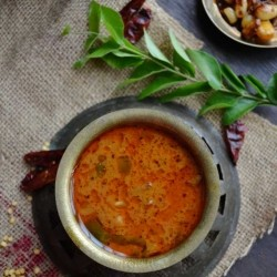 Dried Anchovies White Chickpeas Curry