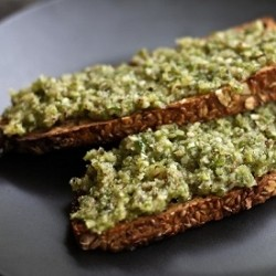 Garlic Scape and Hazelnut Pesto Recipe