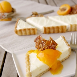 Honey Almond Mascarpone Tart