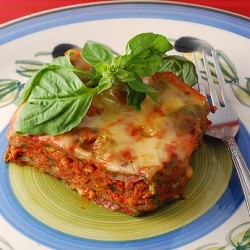 Lasagne of Emilia Romagna with Abruzzi Flair