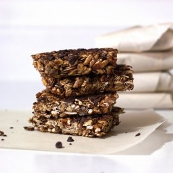 Nuts Oats Espresso Power Bars Recipe