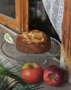 Old Fashioned Apple Cake from Grandma Duck Cookbook