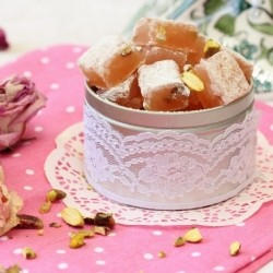 Rose Pistachio Turkish Delight Recipe