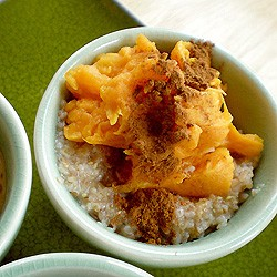 Seven Grain Hot Cereal Three Ways