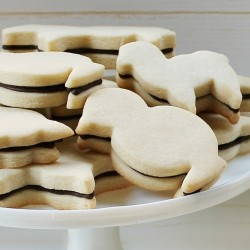 Sugar Cookies with Chocolate Ganache Recipe