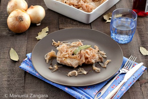 Sweet and Sour Tuna with Onions Recipe