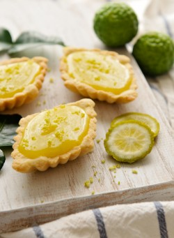 Thai Kaffir Lime Tartlets
