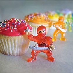 The rainbow sprinkle ninja squad is out to rock…
