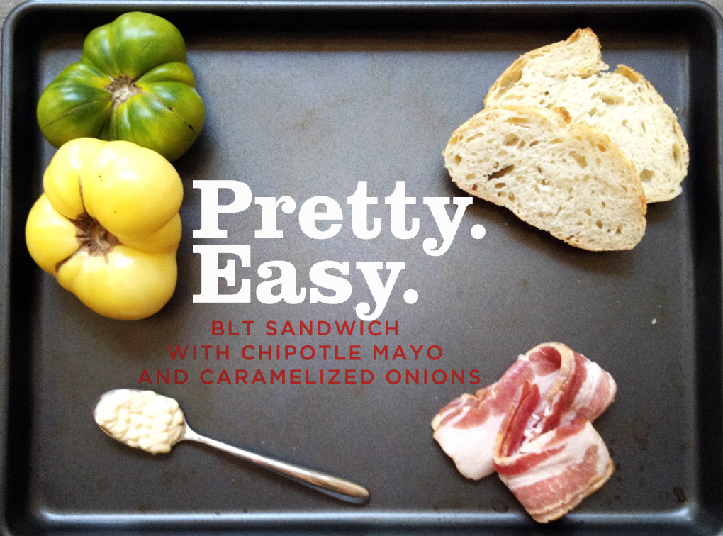 BLT Sandwich with Chipotle Mayo Recipe