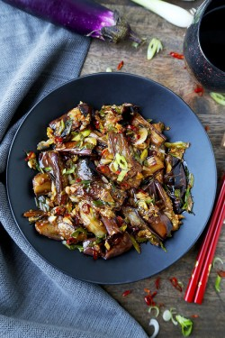 Chinese Eggplant with Garlic Sauce – Pickled Plum Food And Drinks