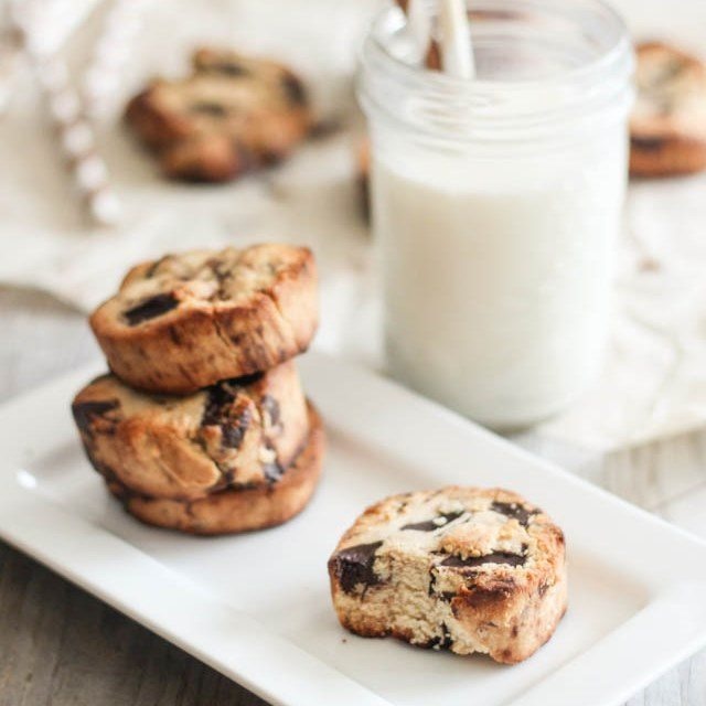Chocolate Chunk Shortbread Cookies Paleo Recipe