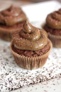 Chocolate Mocha Cupcakes with Avocado