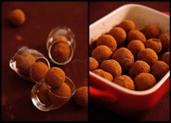 Dates and Prunes Brownie Truffles