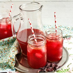 Orange and Hibiscus Iced Tea Recipe