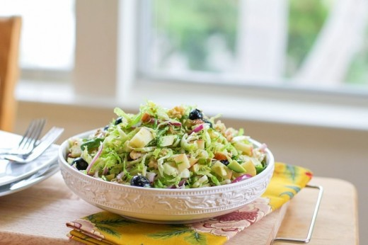 Shaved Brussels Sprouts Salad Recipe