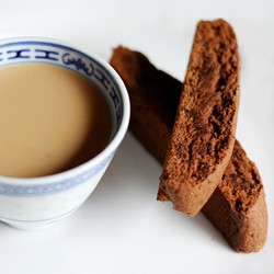 Simple Chocolate Biscotti