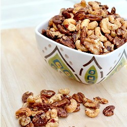 Sweet Spicy Roasted Nuts Recipe