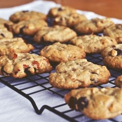 Almond Coconut Chocolate Chip Cookies Recipe