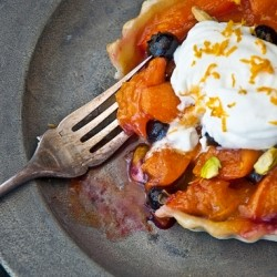 Blueberry Apricot Tart Recipe