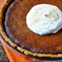 Pumpkin Pie with Mascarpone Recipe