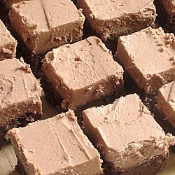 Addictive Mocha Brownies.