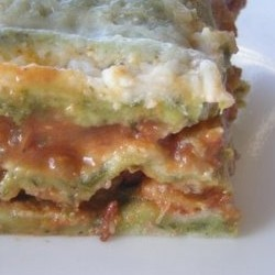 Cheeseless Lasagna
