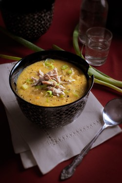 Chicken Corn Egg Soup