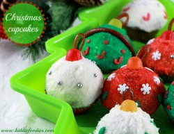 Christmas Ornaments Cupcakes Recipe