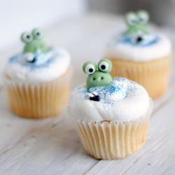 Frog in a Bog Cupcakes Recipe