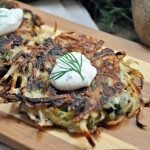 Greek Twist latkes Recipe