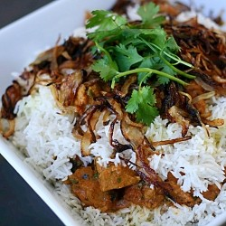 Indian Chicken Biriyani