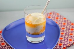 Tangelo Creamsicle Ice Cream Float Recipe