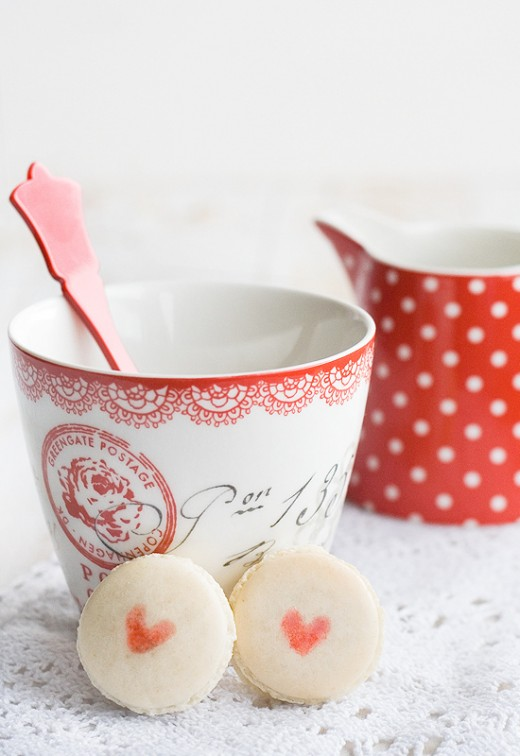 Valentines Day French Macarons Recipe