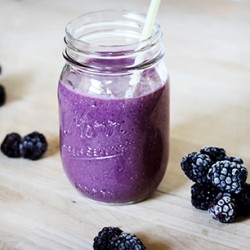 Blackberry Banana Smoothie Recipe