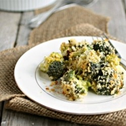 Broccoli Gratin Light Recipe