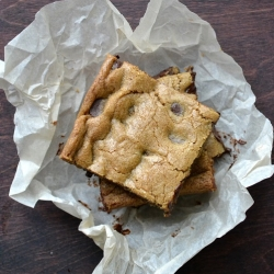 Cardamom and Coffee Dirty Blondies
