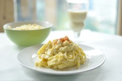 Cauliflower Tagilatelle Alfredo Recipe