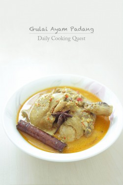 Chicken Curry Padang Style Recipe