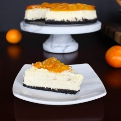 Clementine Vanilla Cheesecake Recipe