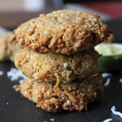 Coconut Lime Hemp Seed Cookies Recipe