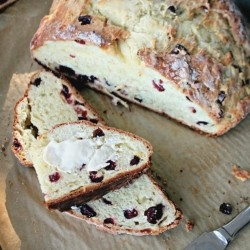 Cranberry Citrus Soda Bread