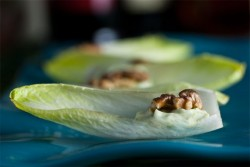 Endive Spears with Roquefort Mousse