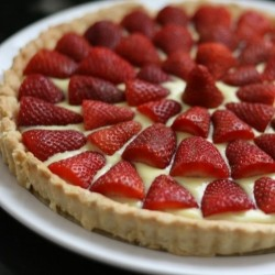 Fresh Picked Strawberry Tart