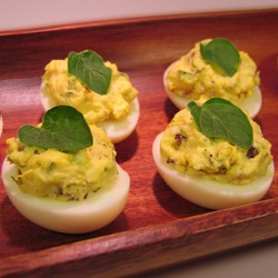 Greek Deviled Eggs